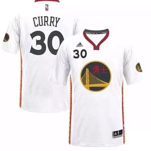 🆕 S. Curry Golden State Warriors Adidas Jersey